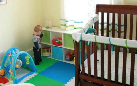 سیستم گرمایشی و سرمایشی اتاق نوزاد, نکته مهم در دکوراسیون اتاق نوزاد