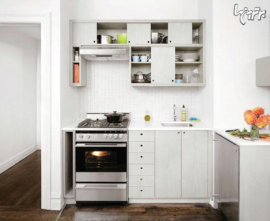 طراحی مینیمالیستی در آشپزخانه