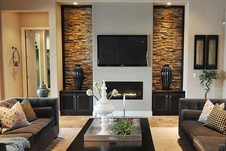 طراحی دیوار تلویزیون ال سی دی,دیوار پشت تلویزیون