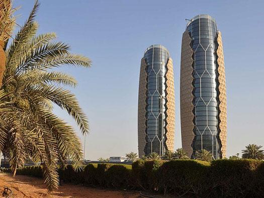 برجهای دوقلوی ابوظبی و یادبود میراث ارزشمند گذشته