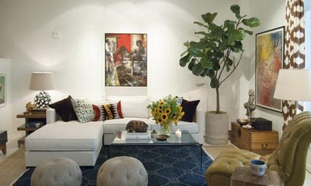 ایده هایی برای طراحی داخلی خانه,انواع چیدمان اتاق نشیمن