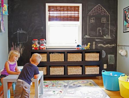 طراحی اتاق کودک, وسایل نظم دادن به اتاق کودک