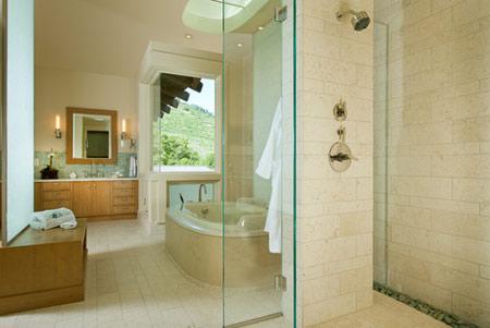 انواع سنگ مناسب حمام,آشنایی با انواع سنگ