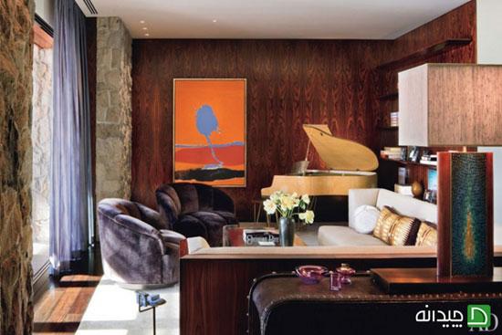 جنیفر انیستون، بازیگر هالیوودی از طراحی خانه اش می گوید!