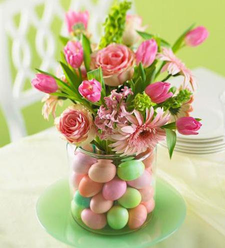 دکوراسیون خانه با گل های بهاری, چیدمان گل های بهاری در دکوراسیون خانه