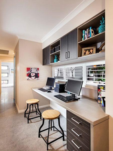 طراحی های اتاق کار,دکوراسیون و چیدمان اتاق کار