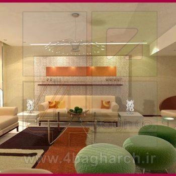 طراحی داخلی مسکونی (۳)