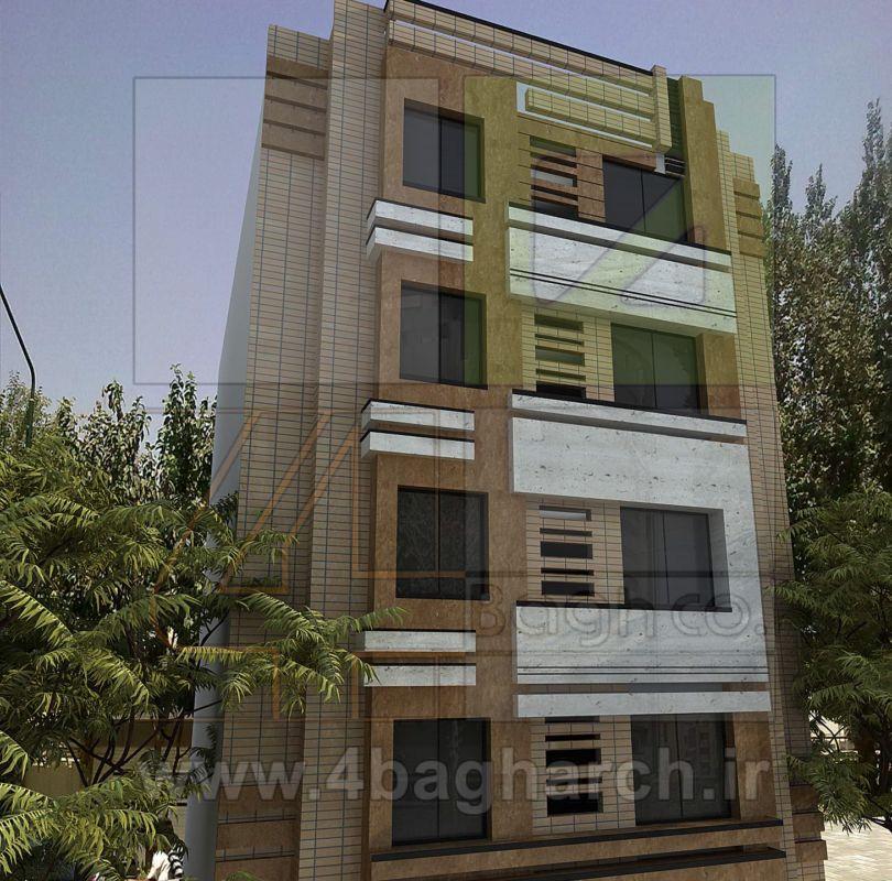 طراحی نمای ساختمان (۲)