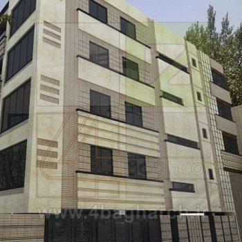 طراحی نمای ساختمان (۳)