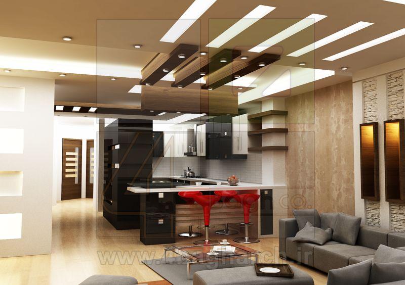 طراحی داخلی مسکونی (۴)