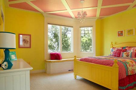تخت خواب های رنگی برای دیدن خواب های رنگی