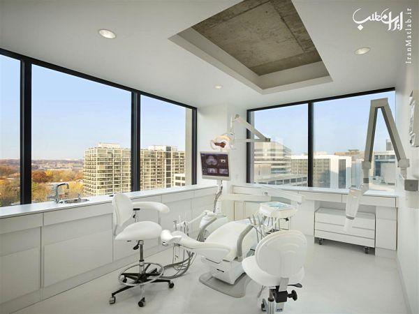 مدل دکوراسیون و دیزاین دندان پزشکی
