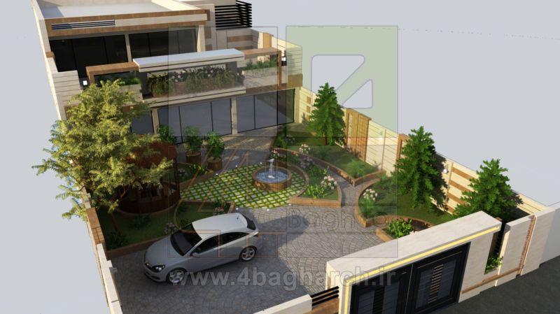 طراحی حیاط (۱)