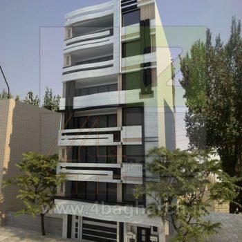 طراحی نمای ساختمان (۵)