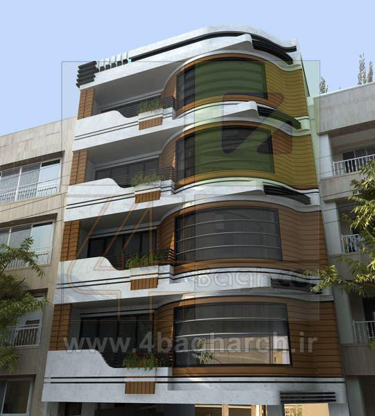 طراحی نمای ساختمان (۶)