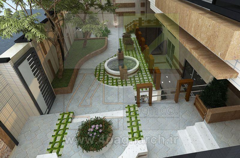 طراحی حیاط (۲)