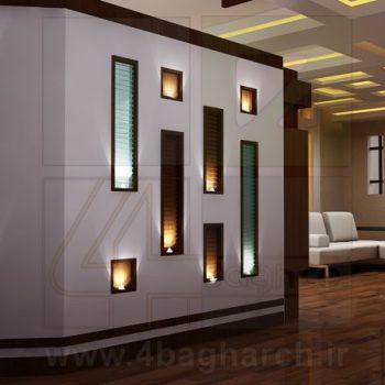 طراحی داخلی مسکونی (۱۰)
