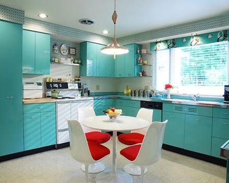صوت آموزشی دکوراسیون داخلی مدرن در آشپزخانه