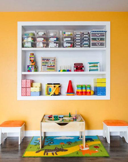 نکاتی که برای نظم دادن اتاق کودک باید بدانید!