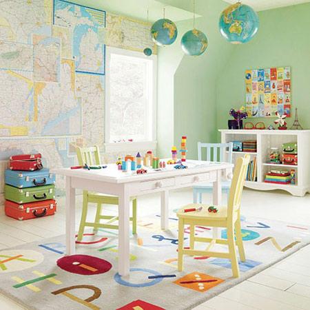 دکوراسیون و چیدمان اتاق کودک,چیدمان اتاق کودک