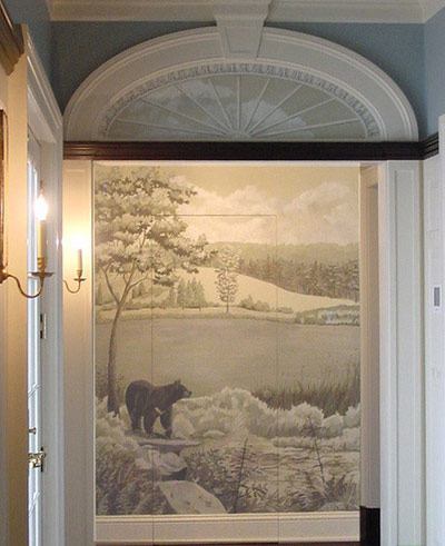 مخفی کردن درب,مخفی کردن درهای خانه