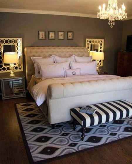 نورپردازی مدرن اتاق خواب