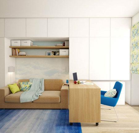 نکاتی برای طراحی داخلی خانه,تکنیک های دکوراسیون داخلی خانه