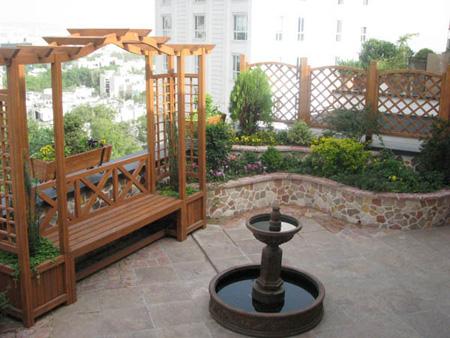 آبنماهای مخصوص حیاط,طراحی آبنما