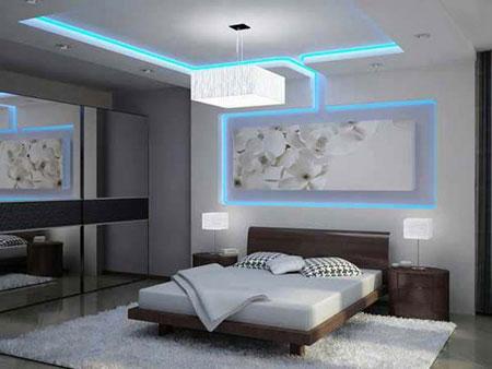 نور اتاق خواب,انواع نور پردازی اتاق خواب,نور پردازی اتاق خواب