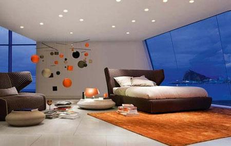 نور پردازی اتاق خواب,عکس اتاق خواب,مدل نور پردازی اتاق خواب