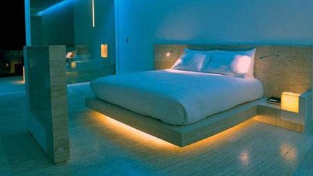 عکس نور پردازی اتاق خواب,انواع نور پردازی اتاق خواب,نوراتاق خواب