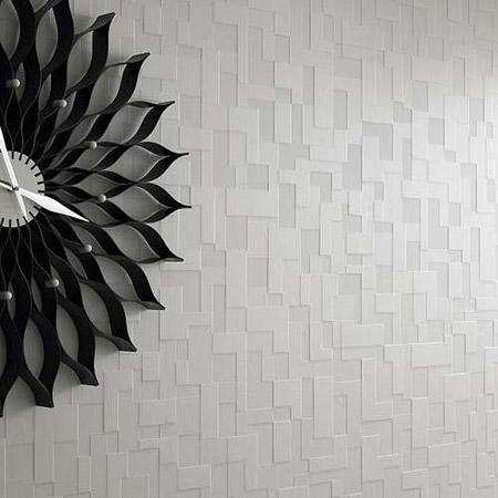 عکس کاغذ دیواری منزل, کاغذ دیواری جدید, دکوراسیون پذیرایی با کاغذ دیواری