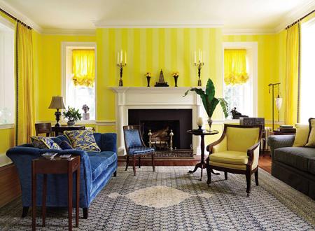 نحوه رنگ آمیزی دیوارها, دکوراسیون و رنگ آمیزی منزل