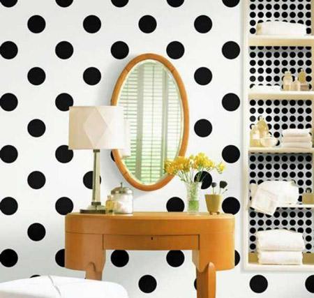 دکوراسیون منزل با کاغذ دیواری,کاغذ دیواری اتاق خواب,کاغذ دیواری