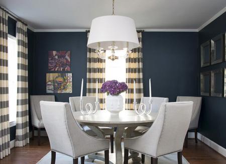 اتاق غذاخوری آبی,بهترین رنگ اتاق غذاخوری