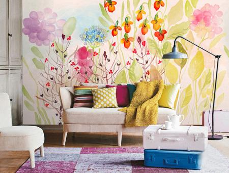 دکوراسیون منزل و ایده هایی برای رنگ آمیزی دیوارها