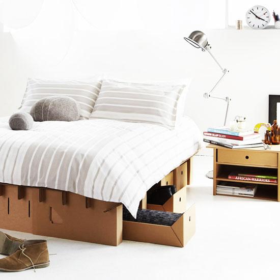 استفاده از فضای زیر تخت بعنوان کشو