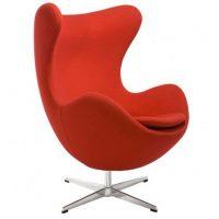 مدل Egg Chair معماری Arne Jacobsen