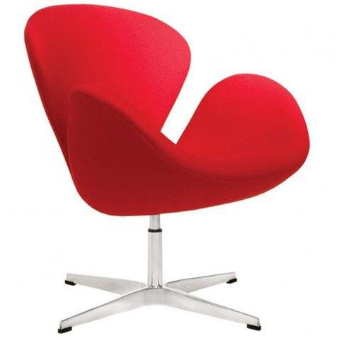 مدل Swan Chair معماری Arne Jacobsen