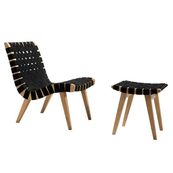 مدل : Risom Lounge Chair معماری : Jens Risom