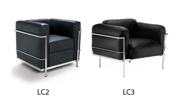مدل : LC2 and LC3 Armchair معماری : Le Corbusier