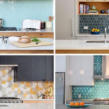 بررسی ۹  نمونه کاشی در طراحی داخلی آشپزخانه