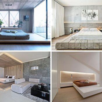 ۸ نمونه ایده طراحی اتاق خواب با استفاده از پلت فرم
