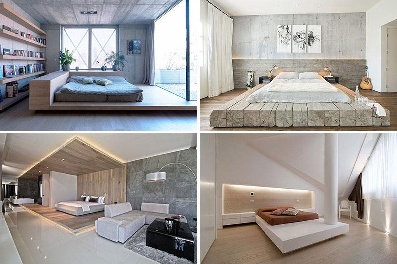 طراحی اتاق خواب با استفاده از پلت فرم