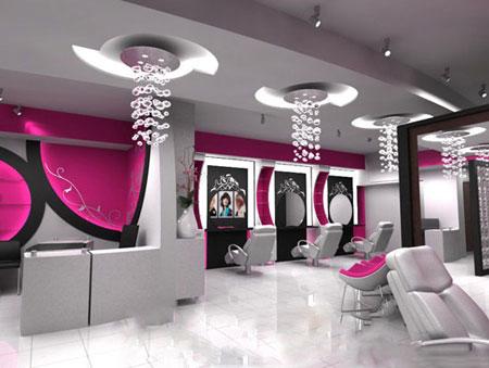دکوراسیون آرایشگاه زنانه,مدل آرایشگاه زنانه