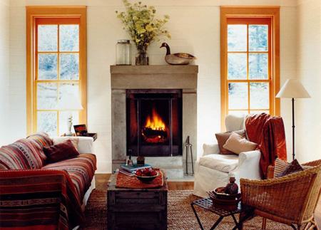 ایده های زیبای پاییزی,چیدمان خانه برای استقبال فصل پاییز