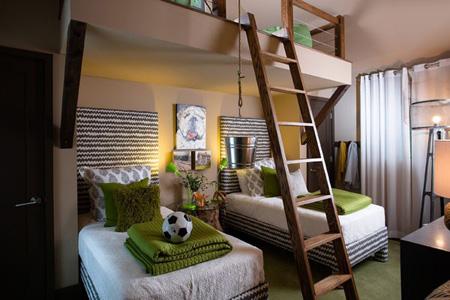 بهترین مبلمان اتاق کودک, نورگیر طبیعی خانه