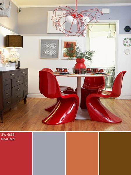 شناخت رنگ های پاییزی,دکوراسیون خانه با رنگ های پاییزی