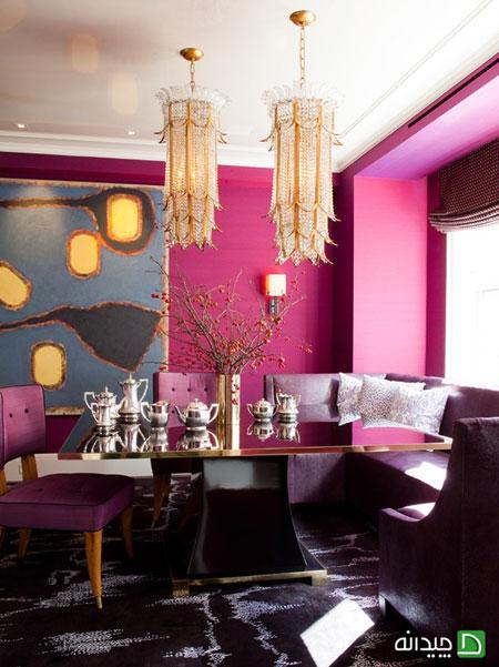 رنگ هایی که در دکوراسیون داخلی منزل شما جیغ می زنند!