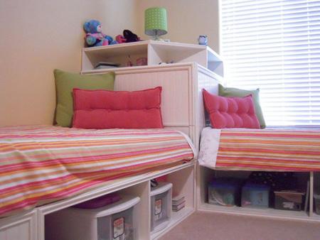 طراحی اتاق مشترک کودکان,طراحی اتاق کودکان